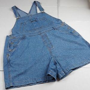 Women's Clothing The Best Xhilaration Womens Army Green Khaki Shortall Bib Overalls Shorts Jumper Sz Large